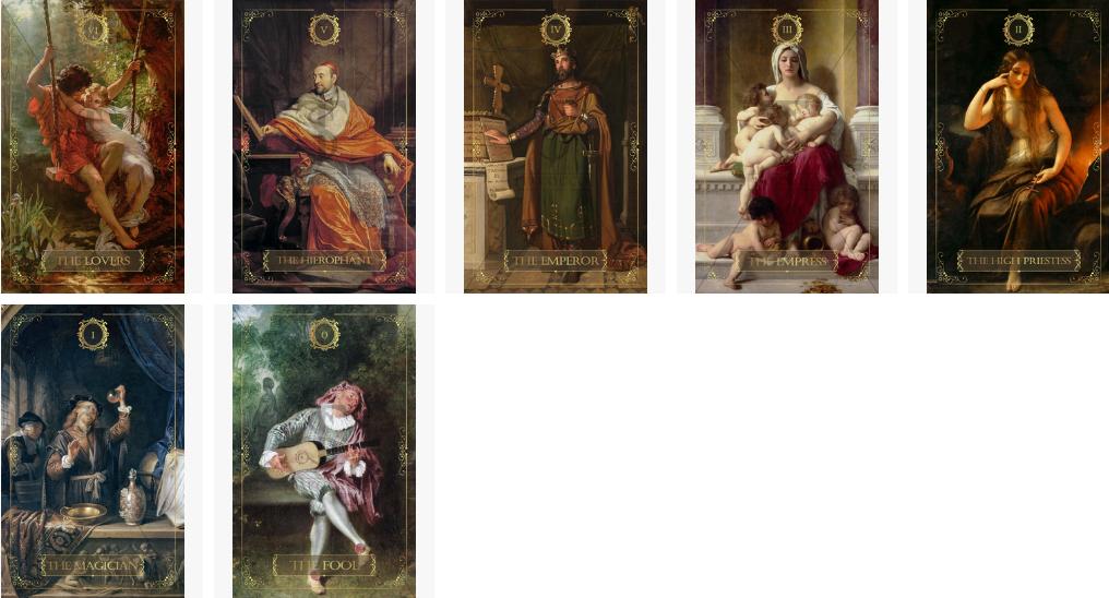 Gallery Revival Art Tarot